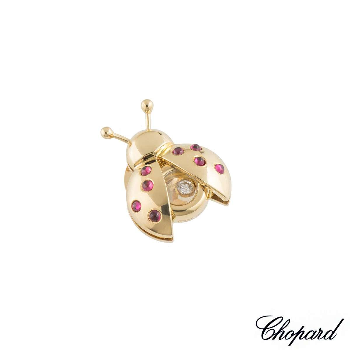 Chopard Happy Diamonds Ladybird Brooch